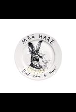 Dinnerware Mrs Hare Don't Share Plate