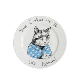 Dinnerware Cat's Pajamas Plate