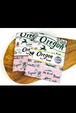Dish Towels Oregon Retro Tea Towel