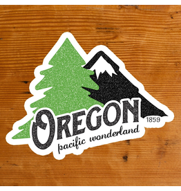 Stickers Oregon Pacific Wonderland Sticker