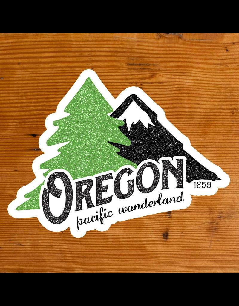 Stickers Oregon Pacific Wonderland Sticker