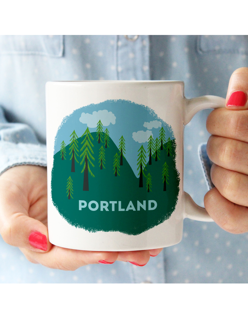 Mugs Portland Trees Mug