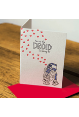 Greeting Cards Droid Love Greeting Card