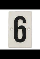 Plaques Cast Iron #6 Plaque