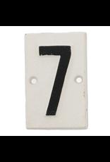 Plaques Cast Iron #7 Plaque