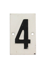 Plaques Cast Iron #4 Plaque