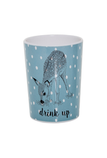 Dinnerware Deer Blue Cup