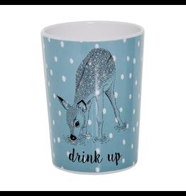 Dinnerware Deer Blue Cup