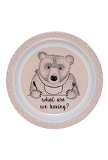 Dinnerware Bear Pink Plate