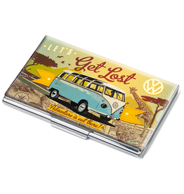 Desk Supplies VW Get Lost Business Card Case