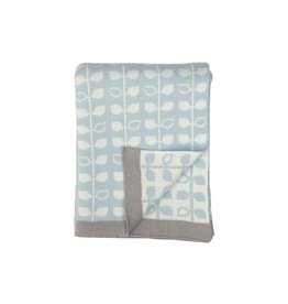 Blankets Blue Leaf Baby Blanket