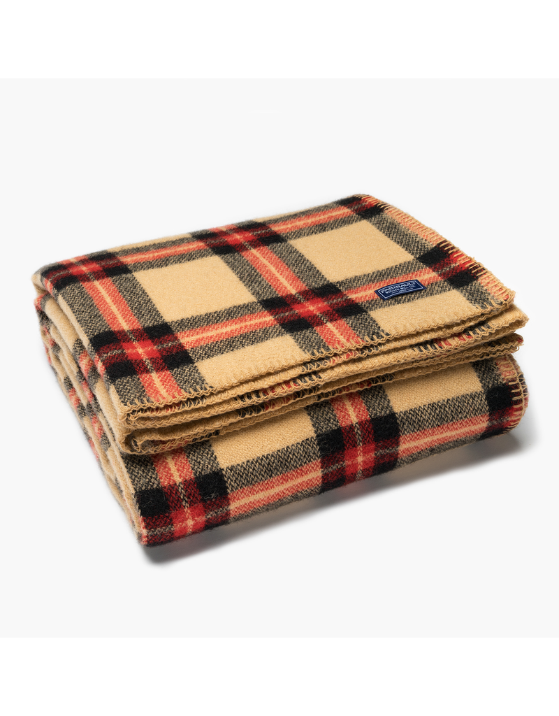 Throws Soho Camel/Black Plaid Throw