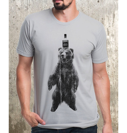 T-Shirts Bear & Whiskey Adult T-Shirt