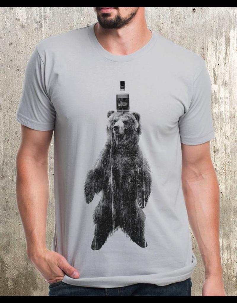 T-Shirts Bear & Whiskey Adult T-Shirt