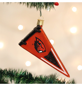 Ornaments OSU Beavers Pennant Ornament