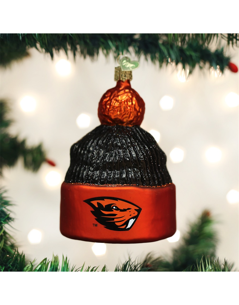Ornaments OSU Beavers Beanie Ornament