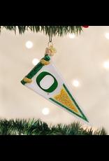 Ornaments University of Oregon Ducks Pennant Ornament