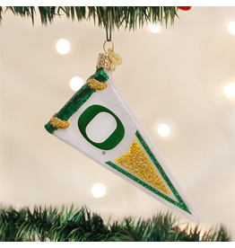 Ornaments University of Oregon Ducks Pennant Ornament