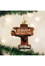 Ornaments Sequoia National Park Ornament