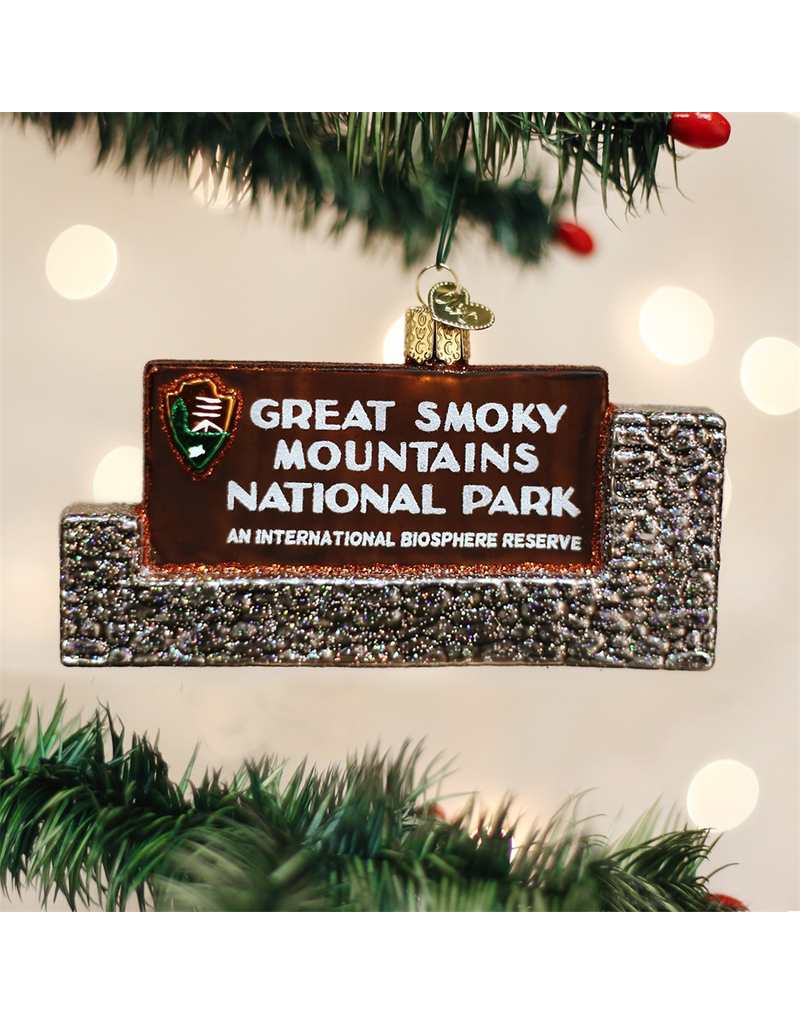Ornaments Great Smoky Mtns National Park Ornament