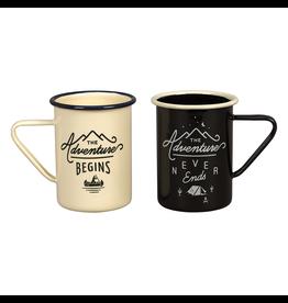 Enamelware Adventure Enamel Mug Set