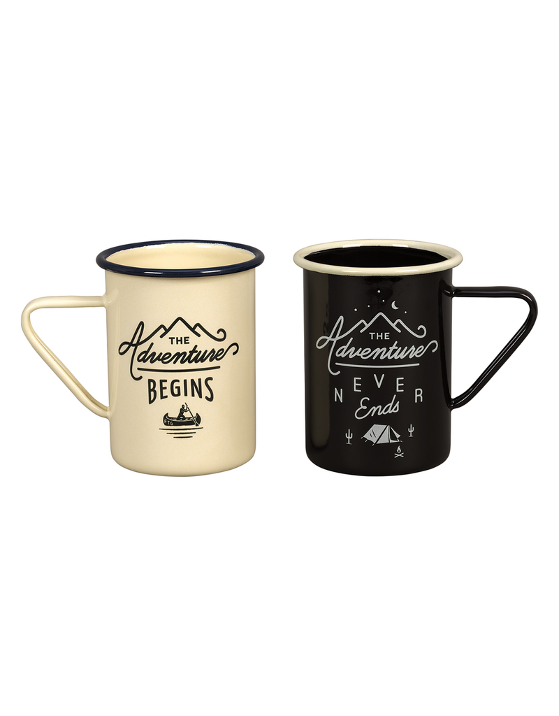 Enamelware Adventure Enamel Mug Set
