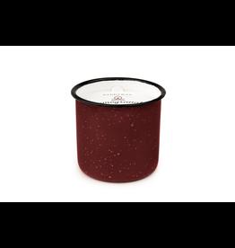 Candles Pomegranate & Spruce Enamel Candle