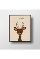 Prints Be Gentle Deer Print