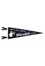 Pennants Not All Who Wander Pennant