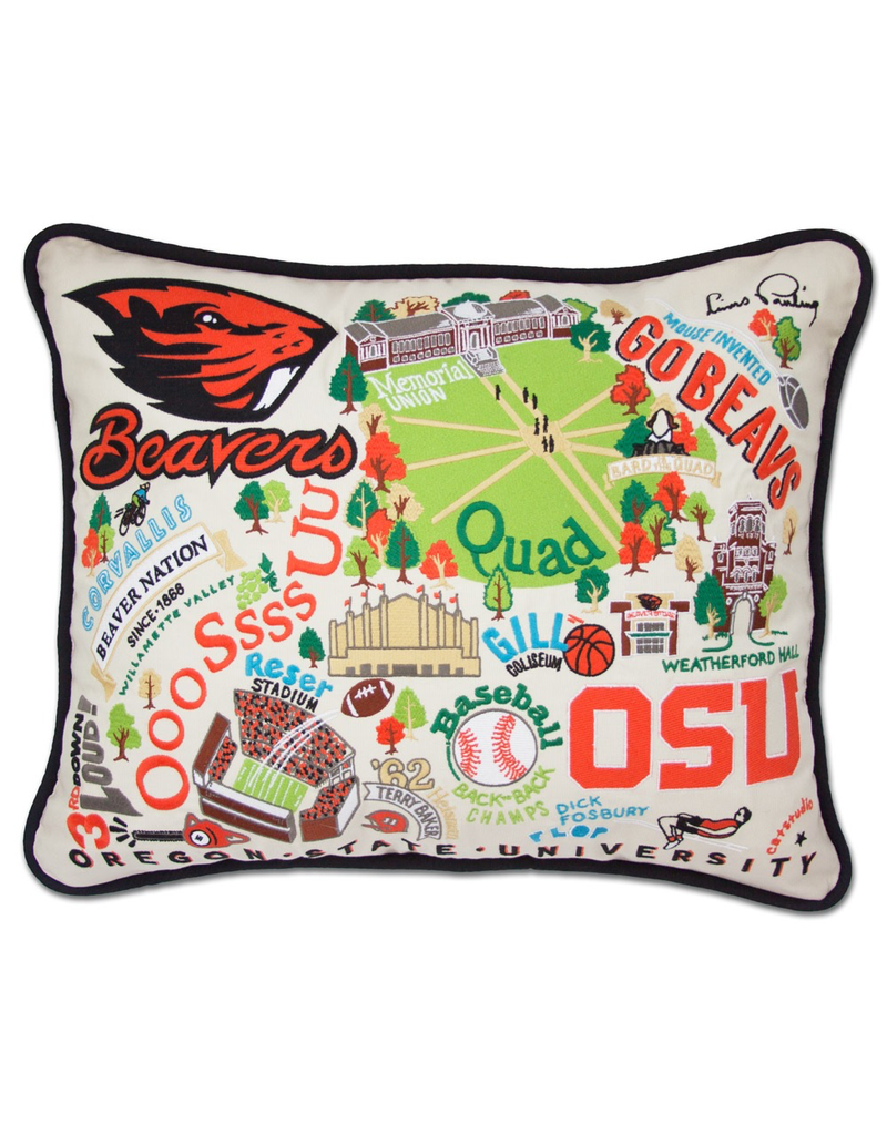 Pillows Oregon State University Beavers Pillow