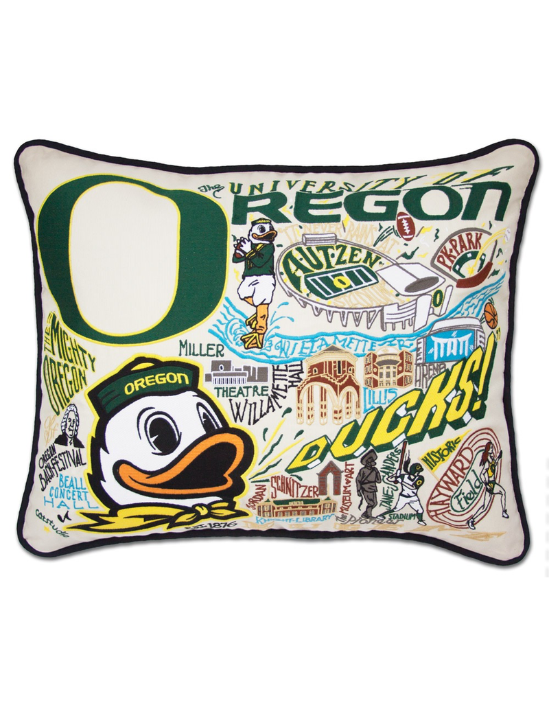 Pillows University Of Oregon Ducks Pillow