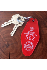 Keychains Portland City Of Roses Key Tag
