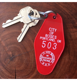 Keychains Portland City Of Roses Key Tag