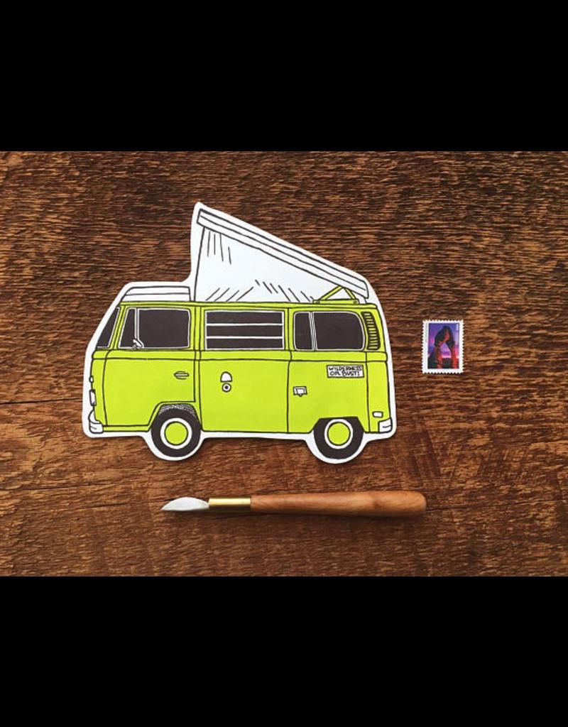 Postcards Camper Van Postcard