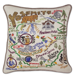 Pillows - Embroidered Yosemite Pillow
