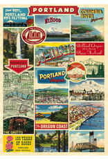 Gift Wrap Portland Collage Gift Wrap