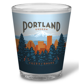 Shot Glasses Portland Shot Glass