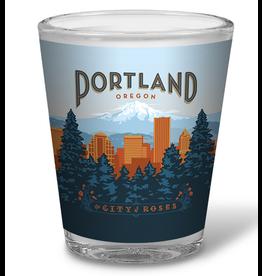 Shot Glasses Portland Shot Glass