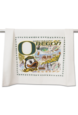 Tea Towels University of Oregon Ducks Dish Towel