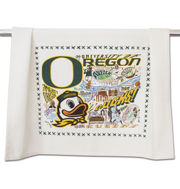 Tea Towels University of Oregon Ducks Dish Towel