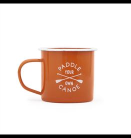 Enamelware Paddle Enamel Mug