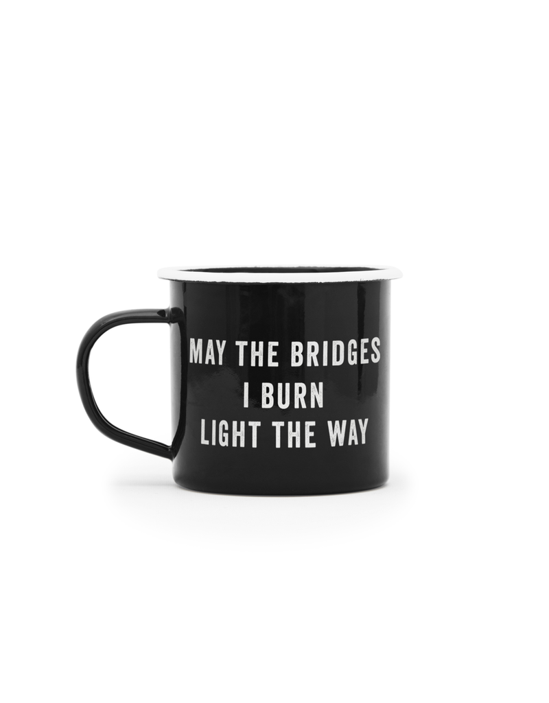 Enamelware Bridges Enamel Mug