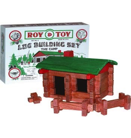 Toys Log Cabin Building Set