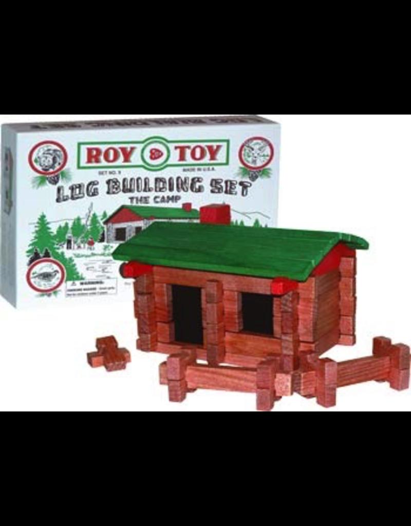 Toys Log Cabin Building Set