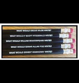 Pens & Pencils Male Author Pencils