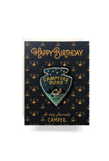 Greeting Cards - Birthday Campfire Boss Birthday Card