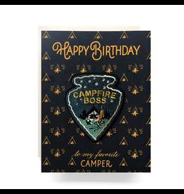 Greeting Cards - Birthday Campfire Boss Birthday Card