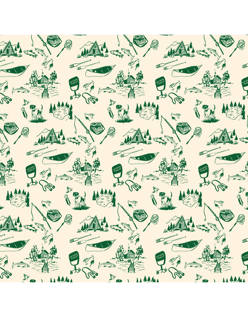 Gift Wrap Outdoorsman Gift Wrap