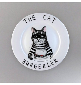 Plates The Cat Burgerler Plate