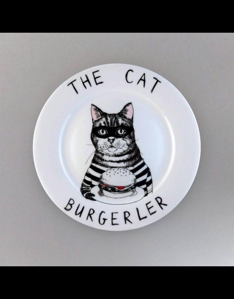Plates The Cat Burgerler Plate